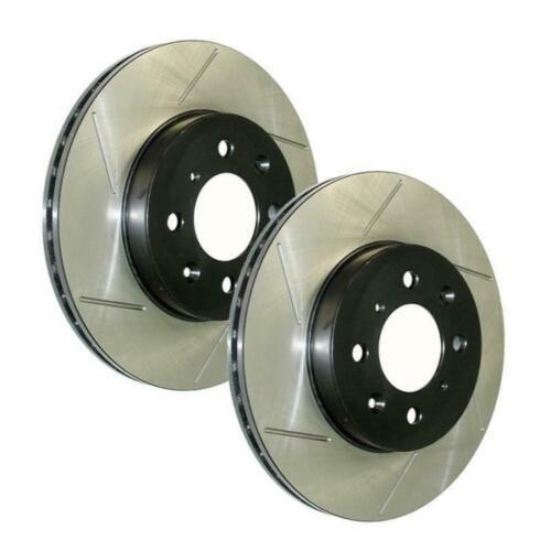 StopTech Power Slot Rear Brake Rotors for 02-06 Mini Cooper// Cooper S