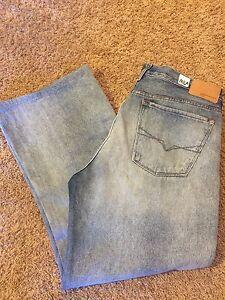Medium Bleu Normale Guess 38 Vintage Vguc Sz Jeans Homme Taille Modele 0Fv8B8