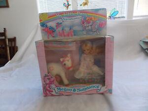 My Little Pony Vintage 1985 Origiona Megan & Sundance