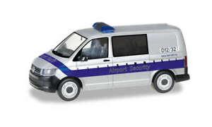 Herpa-095235-VW-T6-Bus-034-Fraport-Aeroport-Securite-034-Modele-1-87-H0
