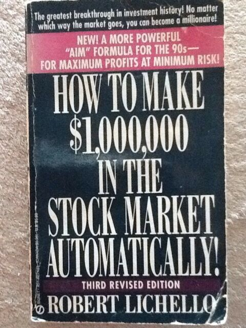 How to Make $1, 000, 000 by Robert Lichello (Paperback, 1992)