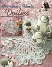 Grandma's House Doilies Crochet Pattern Book Annie's Attic 874415 1998 NEW
