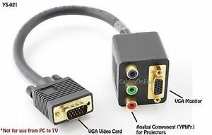 Vga to rca hook up