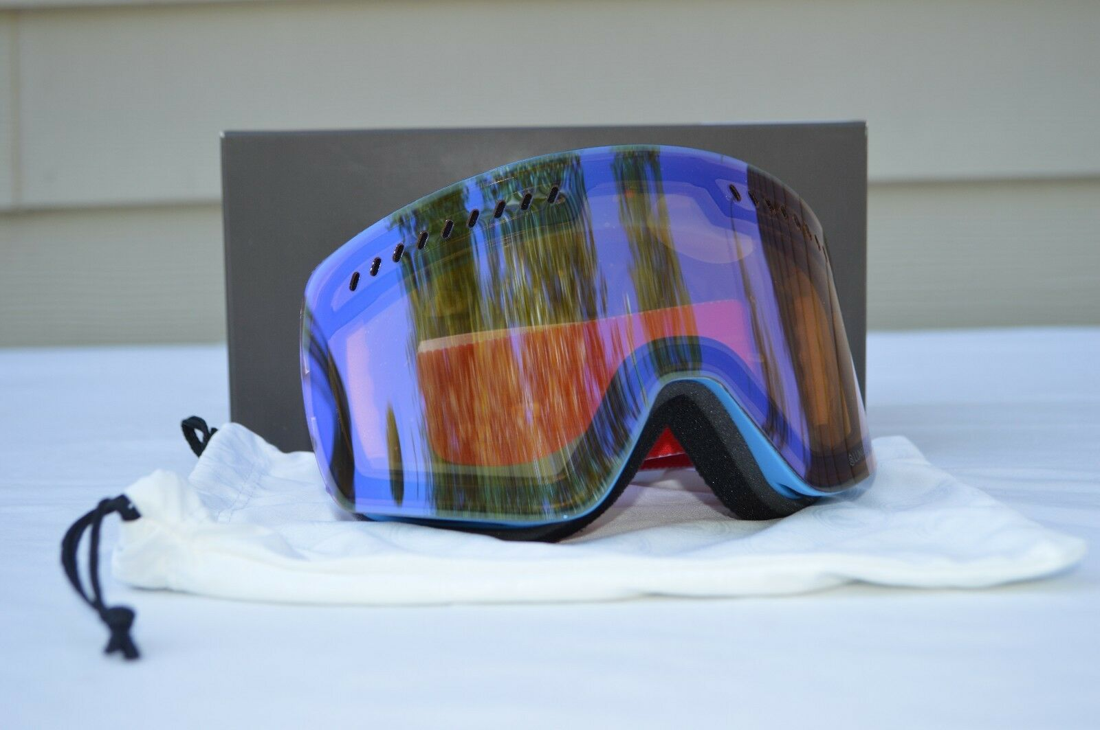 2018  NWT DRAGON NFXS SNOWBOARD GOGGLES  220 verge luma lens flash bluee  presenting all the latest high street fashion