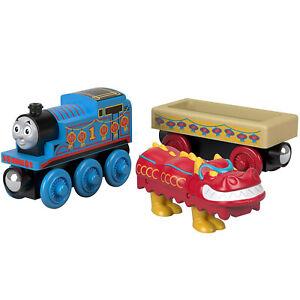 Thomas-And-Friends-Wood-Thomas-And-Chinese-Dragon-Train-Set-NEW