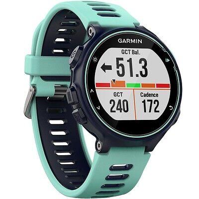 Garmin Forerunner 735XT GPS Running Watch Midnight Blue / Frost Blue