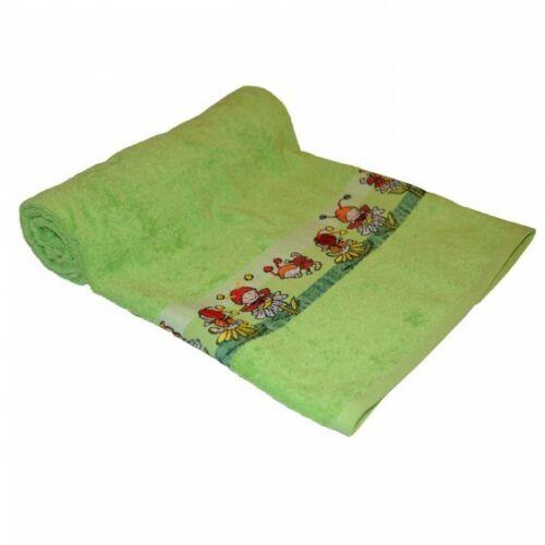 Dyckhoff Kinder Baby Frottee Handtuch Badetuch Käfer grün