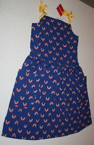 Kompetent Neu Hanna Andersson Mädchen 160 Cm 14 16 Jahr Kissenbezug Kleid Rainbow Spaß Seien Sie Freundlich Im Gebrauch