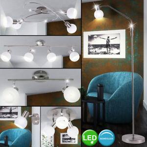 Leuchten Für Flur led steh leuchten flur decken beleuchtung glas strahler beweglich