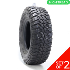 Set Of 2 Used Lt 28575r16 Goodyear Wrangler Mtr 122119p 11 1232 Fits 28575r16
