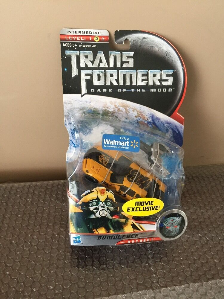 Transformers Dark Of The The The Moon Deluxe Class - BUMBLEBEE Wal-Mart Exclusive Figure af6e92