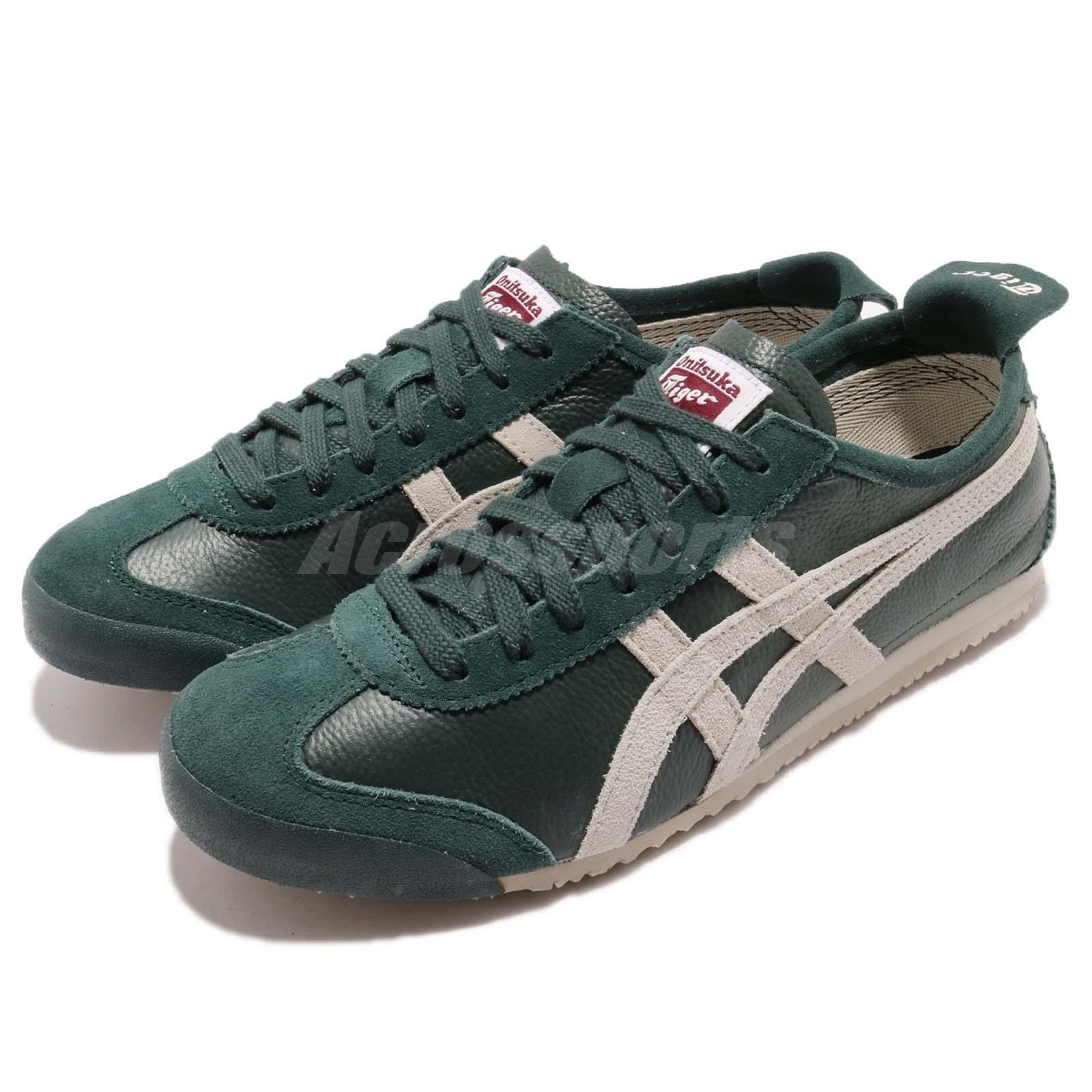 Asics Onitsuka Tiger Mexico 66 Vin Green Birch Men Running shoes D2J4L-8502