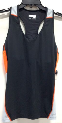 Dark Steel//Bright Orange Marmot Women/'s Interval Tank SM