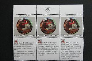 Vereinten-Nationen-New-York-Briefmarke-Briefmarke-Yvert-Und-Tellier-N-599