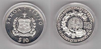 """PROOF 1$ 1 TALA /""""BROKEN/"""" COINS 1997 YEAR KM#41 KM#175 MINT KIRIBATI /& SAMOA"""