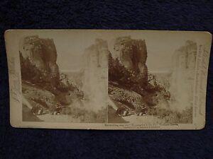 1897-Monastery-Meteora-INSURGENT-amp-BOYS-Greco-Turkish-War-Greece-Greek-Stereoview