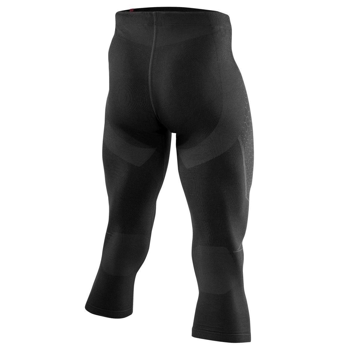 Löffler Unterhose 3 4 Transtex warm Skiunterwäsche black