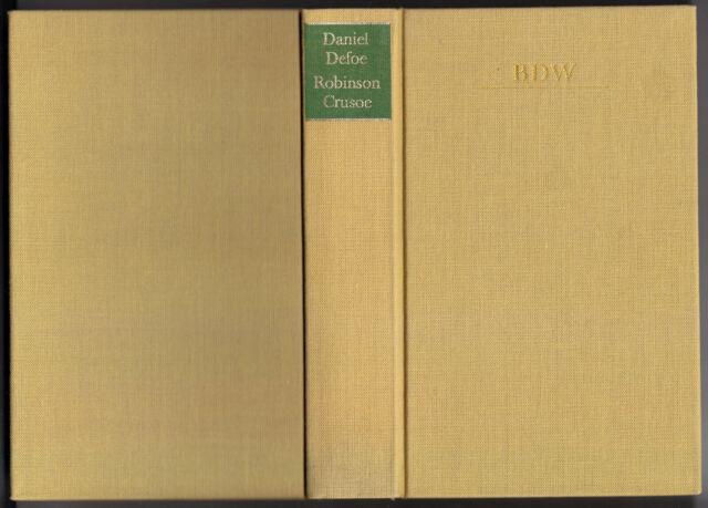Defoe, Daniel; Robinson Crusoe - Erster und zweiter Teil, 1988