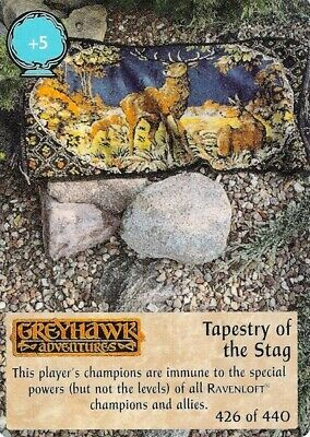 Spellfire 1st Edition Tapestry of the Stag Chase Ultra Rare UR 426//440