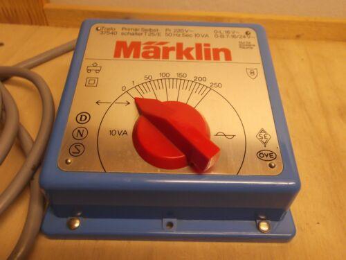 Märklin H0 37540 Trafo Trasformatore Controller Treno 10 VA 220 V AC Testato