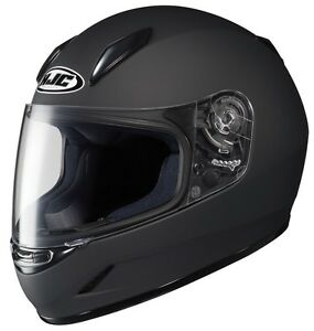 Hjc Cl Y Youth Motorcycle Helmet Matte Black Youth Large
