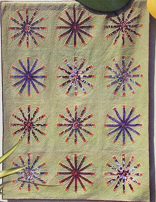 Dingbats Retro Inspired Pieced Quilt Pattern Hunters Design Studio Ebay