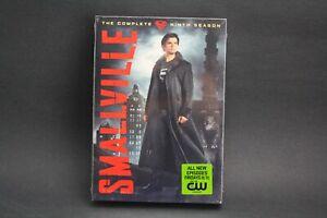 Smallville-The-NEW-Complete-Ninth-Season-9-DVD-2010-6-Disc-Set