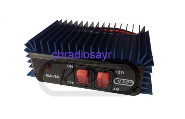 KPO Mobile 25 - 35 W Amplifier/Burner for CB Radios AM/FM -SSB