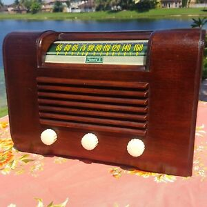 A-Fully-Restored-1945-Sonora-Model-RDU-209-229-Radio-See-The-Video