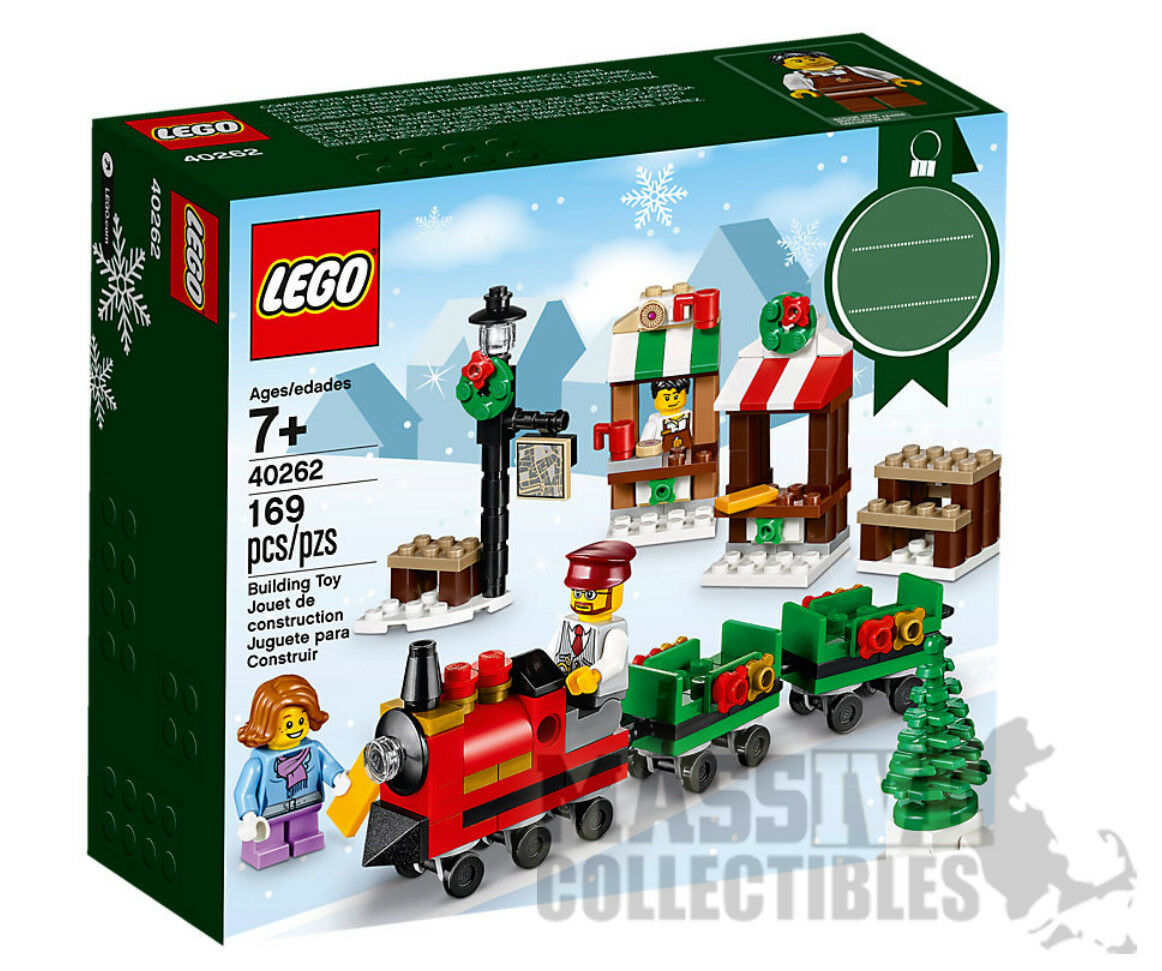 LEGO 2017 2017 2017 Holiday sets 40260 40261 40262 40263 Halloween Thanksgiving Christmas 2e2e99