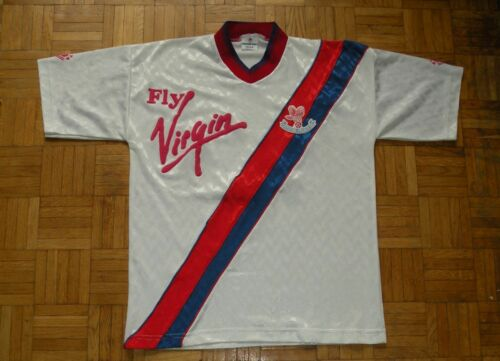 "Crystal Palace 19891990 Bukta Football Away Shirt ""S"" Jersey Trikot"