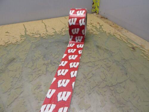 University of Wisconsin badgers College Duck brand duct tape UW [4*R-25]