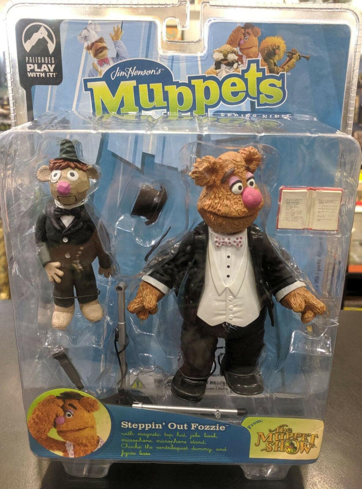 MUPPETS Palisades STEPPIN 'UT FOZzie Action Figur Series 9 MUPPET Show