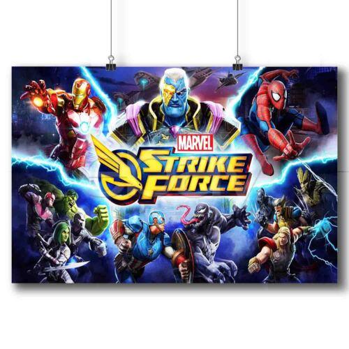 Marvel Strike Force Custom Poster Print Art Wall Decor