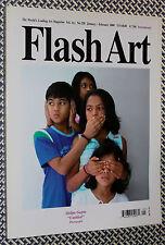 FLASH ART #258 Shila Gupta, Sanford Biggers, Amorales, Chinese Contemporary