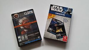 Das Star Wars The Clone Wars 3-Card Match Game Cartamundi Kinder Kartenspiel
