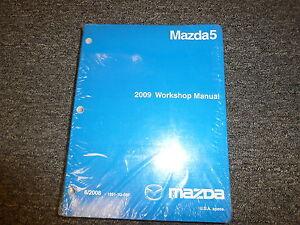 mazda 5 manual 2009