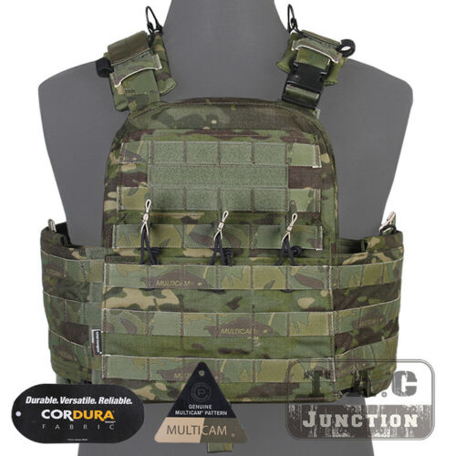 Emerson CAGE Plate Carrier CPC Vest Adjust Tactical MOLLE Vests Airsoft