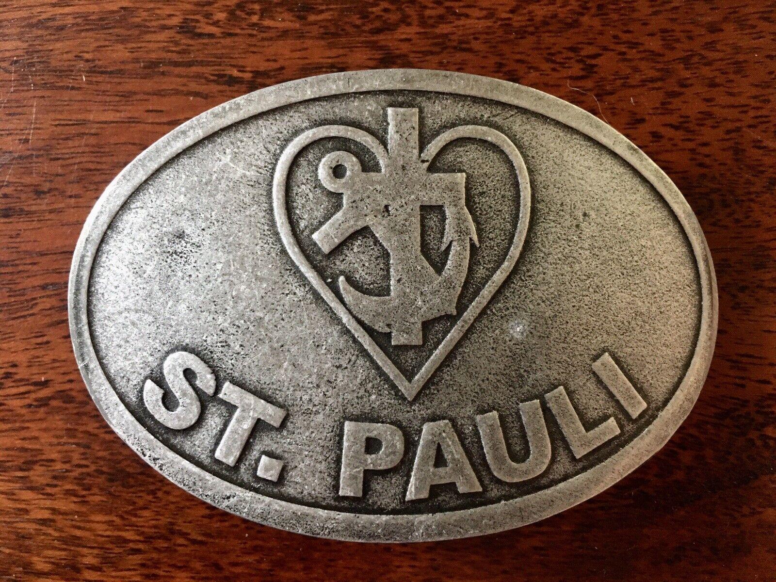 St. Pauli Gürtelschnalle Buckle Liebe Glaube Hoffnung Sankt neu FC