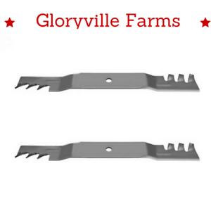 "110-6568-03 2 Mulching 21 5//8/"" long Blades For Toro 106-2247-03"