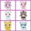 Mewkledreamy Mew Peko Suu Yuni Rei Nene Plush Doll Stuffed Toy Soft AGATSUMA NEW