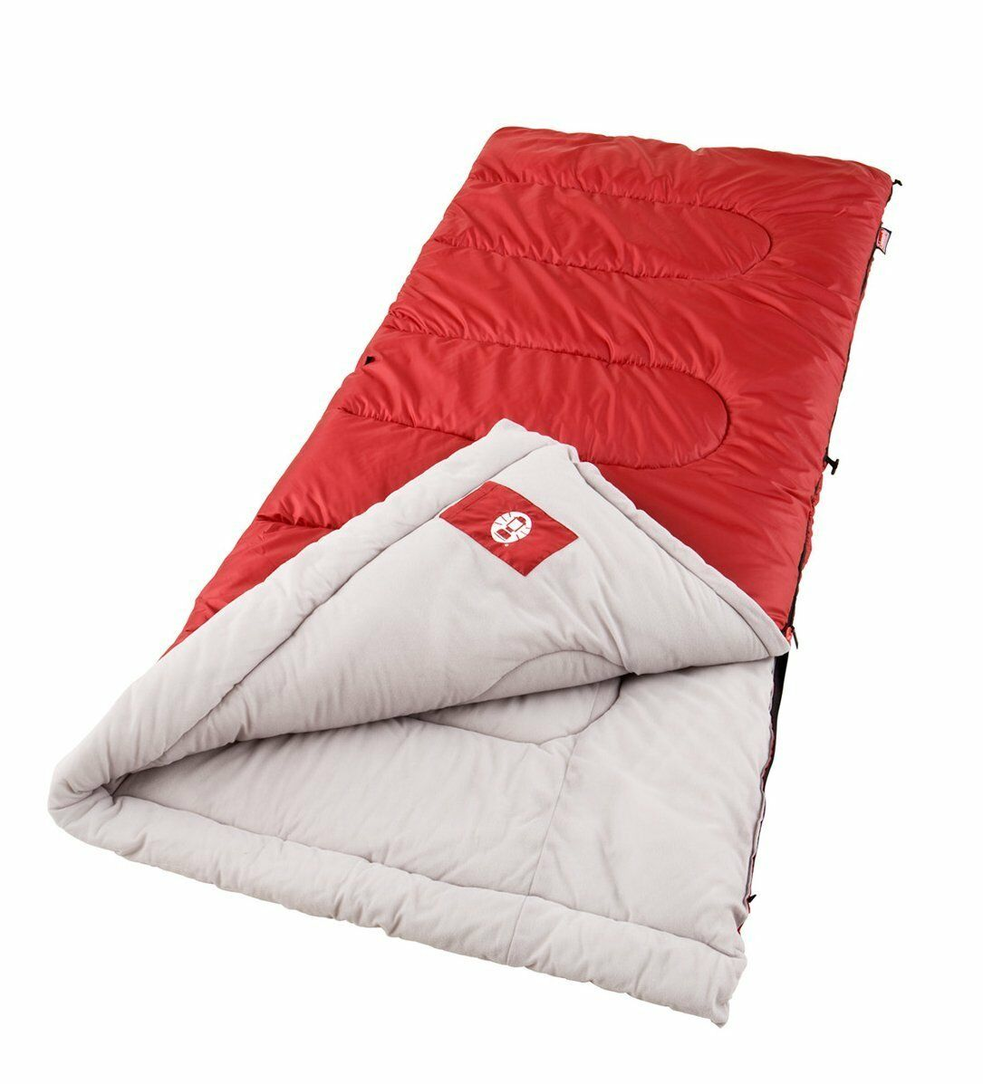 Coleman Palmetto Cool Weather Sleeping  Bag Polyester Cotton Red  factory direct sales