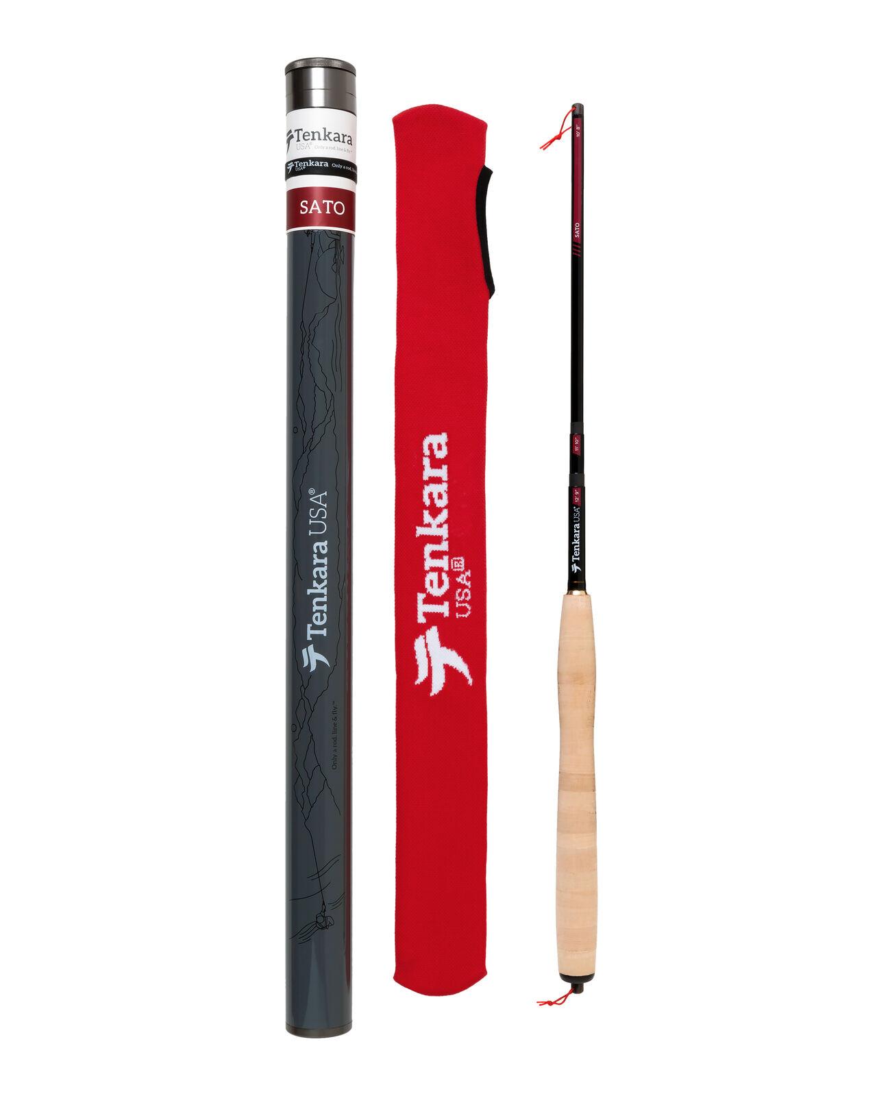 Tenkara USA Sato Tenkara Fly Rod + Case - Triple Zoom 10'8   11'10  12'9