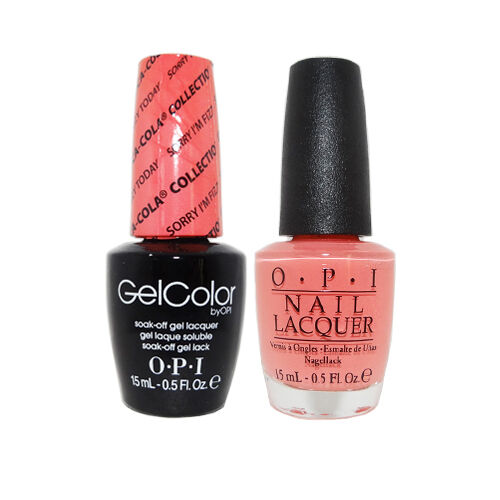 """OPI GelColor Soak-Off Gel Polish & Nail Lacquer """"Sorry I'm Fizzy Today #GCC35"""""""