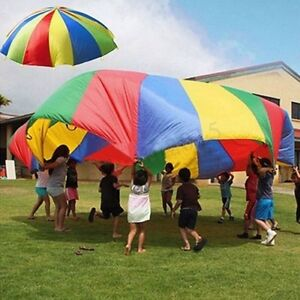 4M-14FT-Large-Kids-Play-Rainbow-Parachute-Outdoor-Game-Exerclse-Group