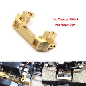 Heavy Duty Brass Front Bumper Servo Mount For Traxxas TRX-4 TRX4 1//10 RC