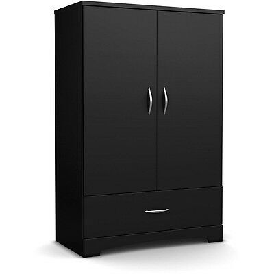 Wardrobe Storage Clothes Organizer Closet Cabinet Bedroom Furniture Wood Armoire Ebay