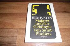 GEORGES SIMENON -- KOMMISSAR MAIGRET und der GEHÄNGTE von SAINT-PHOLIEN // 1981