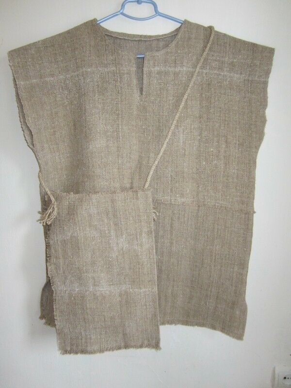 100% Hemp Shirt  Sleeveless Shirt  Homespun cloth  Handmade |  1