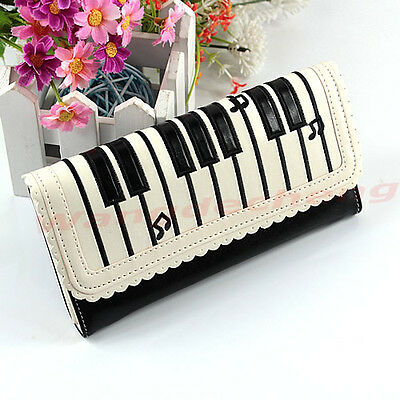 Hot Sale Fashion Lady Synthetic leather Purse Wallet Long Section Holder Handbag
